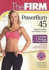 The FIRM - POWERBURN 45 DVD ultimate fat burning workout Cardio Inferno Dance