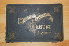 1872 SCOTT STAMP ALBUM 5th EDITION 267 Stamps World Wide Rare Collection 179 pgs