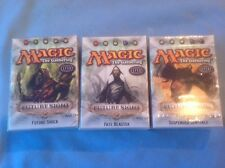 M T G  LOT OF 3 EVENT DECKS  FUTURE SIGHT ,FUTURE SHOCK,FATEBLASTER,SUSPENDED SE