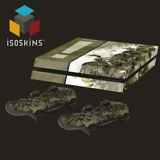 Isoskin ® MGS SNAKE EATER BOSS Green & White PlayStation 4 (PS4) Pelle Decalcomania