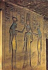 BR3107 Abu Simbel , Small Temple: Coronation of Queen Nefertari  egypt