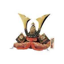 Premium Japanese Samurai Kabuto helmet - Tiger & Peony, Star - cushion, box, tag