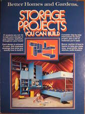 Vintage 1977 Better Homes and Garden Storage Projects You Can Build !!!!!!!!!!!