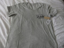 RALPH LAUREN DENIM&SUPPLY GREY V NECK T-SHIRT BNWT SIZE L .SUMMER WEAR