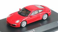 Minichamps 1/87 HO 2011 Porsche 911 (991) Carrera S  (RED) 877060220 US SELLER