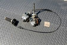 1987-2006 Yamaha Banshee carbs carburators TORS REMOVED & twist throttle setup