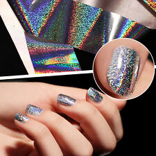 1 Roll Laser Holographic Nail Foil Shimmer Manicure Nail Art Transfer Sticker