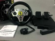Thrustmaster Ferrari Challenge Wheel for PS3 and PC pre owned good  condition