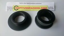BMW S1000 RR S1000RR   CAPTIVE  WHEEL SPACERS.   2009 - 2011 Anodised Black