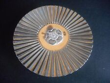 Sterling Silver Dish, Tudor Rose, Hallmarked, James Dixon Sons