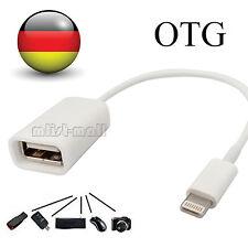 8 pin Lightning OTG Adapter Kabel auf USB Buchse Kabel Für iOS iPhone 7 6 5 iPad