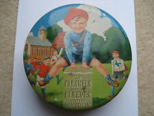 C1920S VINTAGE THIS WAY FOR CARAMELS MADE BY CLEEVES LIMITED LONDON TOFFEE TIN