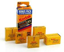 Vintage Kodak Series V Portra Lens Adapters Filters and One Roll Gold 400 Film