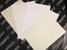50 Conqueror Brilliant White Laid 100gsm A4 Paper / Wedding Stationery/ Free p+p