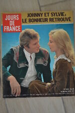 1978 JOURS DE FRANCE n 1223 JOHNNY HALLYDAY SYLVIE VARTAN