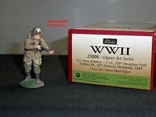 BRITAINS 25006 US ARMY AIRBORNE PARATROOPER WORLD WAR TWO METAL TOY SOLDIER