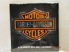 Harley Davidson 2014 Wall Calendar - 13 Great Bike Pictures