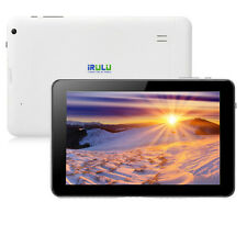 iRULU 9 inch Tablet Android 4.4 Quad Core 8GB Pad Bluetooth Dual Camera WIFI Hot