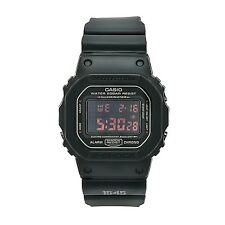 Casio Men's DW-5600MS-1DR G-Shock Black Rubber Digital Dial Watch