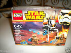 Lego SEALED Set 75089 Star Wars x4 Geonosis Storm Troopers Minifigure Blaster