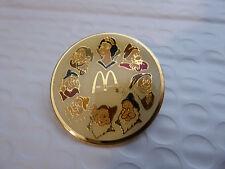 Disney Trading Pins 4587 McDonald's - Snow White and the Seven Dwarfs (Round)