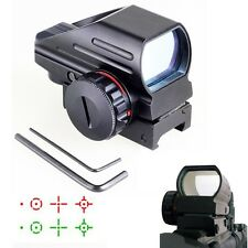 Free Shipping Tactical Scope 1x22x33 Multi Reticle Compact Red Green Dot Sight