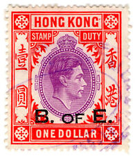 (i. b) hong kong recettes: bill of exchange 1 $