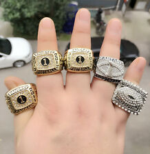 5PCS 2011 2012 2013 2014 2015 Fantasy Football Championship Ring Gift For Men !!