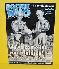 Doctor Who DWM #284 November 17th 1999 Very Good Condition
