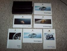 2005 Porsche Boxster Owner's Owners User Manual Book Set S 2.7L 3.2L