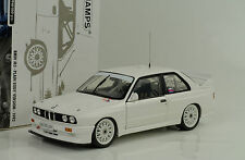 1992 bmw m3 e30 DTM Plain body versión White blanco 1:18 Minichamps