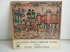 YVES MONTAND Chansons populaires de France  OSX 110