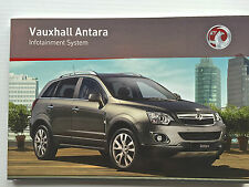 Vauxhall ANTARA Audio CD 30 MP3 Navi Navigation Touch & Connect Operating Manual
