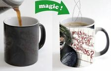 Joker Quote Color Changing Magic Heat sensitive Tea Cup Coffee Mug gift
