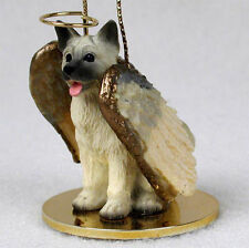 Akita Fawn Dog Figurine Angel Statue
