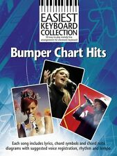 Easiest Keyboard Bumper Chart Hits Learn to Play EASY POP Piano Music Book