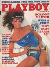US PLAYBOY 1985/06 [June 6/85]  Roxanne Pulitzer * Sparky Anderson * Z 3-4