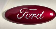 "2004-2015 FORD EDGE,F-150 CUSTOM PAINT EMBLEM,9"",GRILLE OR TAILGATE, RUBY RED"