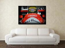 Ayrton Senna 30x20 Inch Canvas - 'Stare' F1 Farmed Formula One Picture