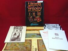 C64: Ultima Trilogy I-II-III - Origin 1989