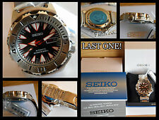SEIKO SUPERIOR MONSTER DRACULA 200m SRP313K2 BRACELET RARE NEW BOX WARRANTY (ES)