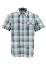 Simms BIMINI Short Sleeve Shirt ~ Ink Plaid NEW ~ Closeout Size 2XL