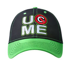 WWE AUTHENTIC JOHN CENA Neon Green Never Give Up Baseball Cap Hat BRAND NEW