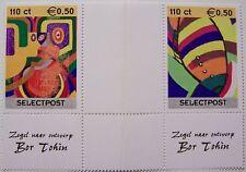Stadspost Zaanstad 2000 - Serie Zeefdrukken met tussenstrook