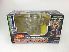 PROTOTYPE Transformers Beast Wars OPTIMUS PRIMAL - CLEAR