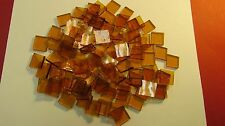 AMBER Light Cathedral Hand Cut Mosaic Glass Tile 100+ Pieces