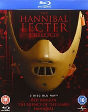 The Hannibal Lecter Trilogy (Blu-ray Region Free)~~Anthony Hopkins~~NEW & SEALED
