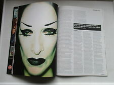 2008 DIAMANDA  GALAS  PLAN B MAGAZINE GREAT PHOTOS