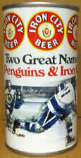 IRON CITY BEER PITTSBURGH PENGUINS Two Great Names ss CAN PENNSYLVANIA 1976 1/1+