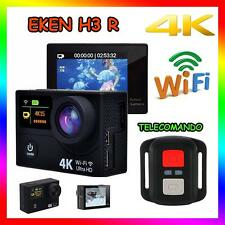 EKEN H3 R 4K WIFI SPORT ACTION CAMERA TELECOMANDO HD 12MP VIDEOCAMERA GO PRO H3R
